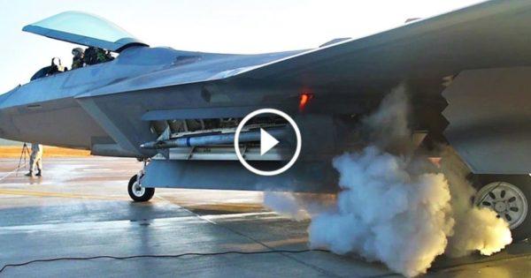 F 22 Raptor Engine Startup World Of Aviation